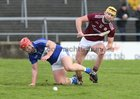 Galway v Laois Allianz Hurling League Division 1B Round 1 game at the Pearse Stadium.<br /> Sean Bleahene, Galway, and Matthew Whelan, Laois