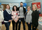 Karen Sweeney, Murphy Playground Services Ltd., Martina McShane, Donnellan Auto Services, Anthony McLaughlin, Cisco Systems, Joanna Cronin, Peppermint Jewellery and Gail Page, Educogym, at the Bank of Ireland Enterprising Town competition hosted at Oranmore Community Centre.