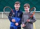 James Lucey and Zaac Dooley of Galway Lawn Tennis Club competed in the  Under 14 and Under 16 competitions at the Galway Lawn Tennis Club Junior Tournament last weekend.