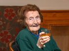 Bridie Daly at her 106th birthday party in O'Meara's, Portumna.