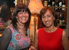 Carmel Feeney and Mary Ryan at the opening of the Balcony Restaurant at Tom Sheridans, Knocknacarra.