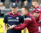 Galway v Carlow Leinster Senior Hurling Championship Round 1 game at the Pearse Stadium.