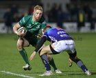 Connacht v Benetton Guinness PRO14 game at the Sportsground.<br /> Connacht's Darragh Leader and Benetton's Luca Sperandio