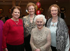 Máire O'Brien, Georgina Kelly, Angela Shaw and Frances Mahony at the Renmore Active Retirement Association 20th anniversary dinner in the Galway Bay Hotel.