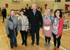 Committee members of the Ballybane Task Force at the Ballybane Christmas Fair in the local Community Centre last Saturday. From left: Bridget McDonagh, Mary Ward, Donal Lynch, Elaine Harvey and Imelda Gormally.