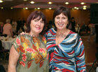 Sisters Mary and Helen O'Flynn at Merlin Park Hospital Tea Dance at the Clayton Hotel.